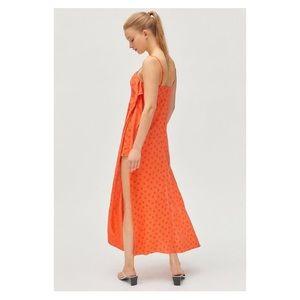 Urban Outfitters Pants - UO Ooh La La Linen Side-Slit Romper